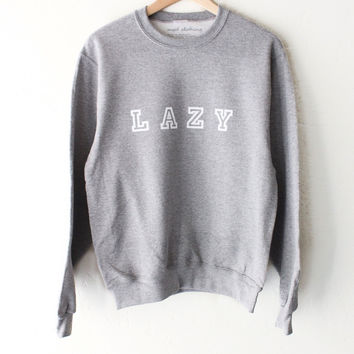 Lazy Sweater - Grey
