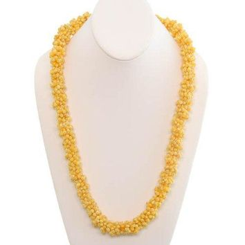 Yellow Mongo Shell Lei