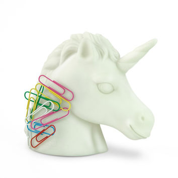 Unicorn Paper Clip Holder