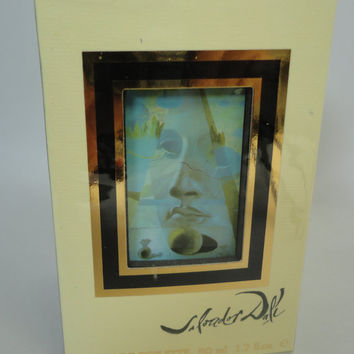 Vintage: Salvador Dali Parfum de toilette 50ml, still wrapped, brand new...
