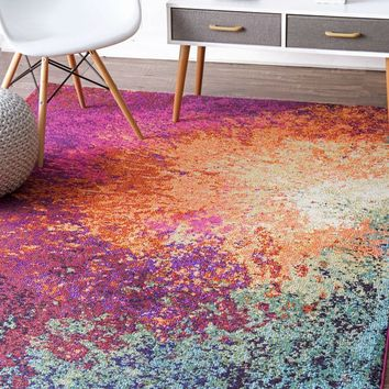 NuLOOM Donya Abstract Rug Multi