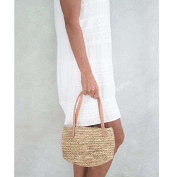 Straw Tote,Small Straw Bag