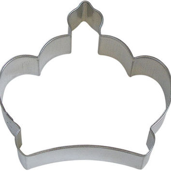 "3.5"" Imperial Crown Cookie Cutter Princess, Queen, Mother's Day"
