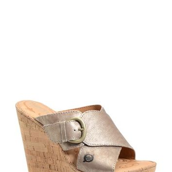 "Women's Born 'Jenee' Wedge Sandal, 4 1/4"" heel"