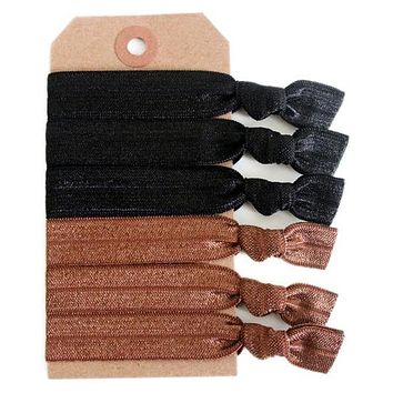 Half & Half Hair Tie Set