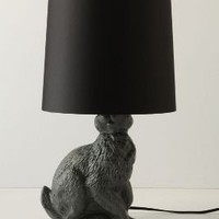 Runway Rabbit Lamp?-?Anthropologie.com