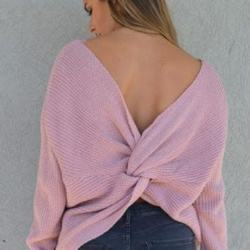 Don't Get It Twisted Sweater
