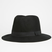 Felt Mens Fedora Black One Size For Men 26216510001