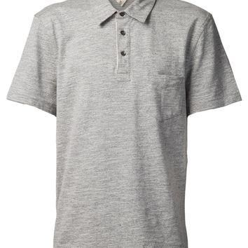 Rag & Bone Patch Pocket Polo Shirt