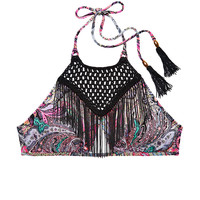 Fringe High-neck Halter - Victoria's Secret Swim - Victoria's Secret