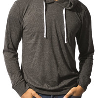 0809-30721425 Guys Jersey Popover Hoodie