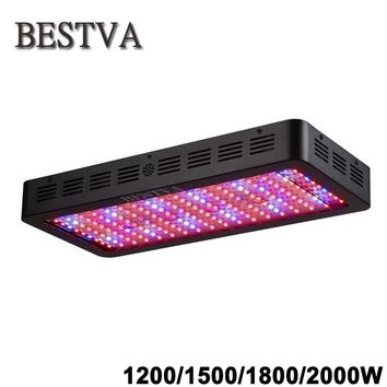 BestVA Black 1200W 1500W 1800W 2000W Full Spectrum led light for grow tent box greenhouse led grow light seedlings flowers