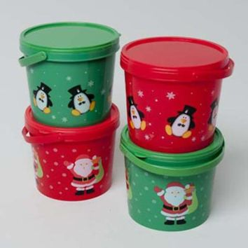 Christmas Candy Container - 48 Units
