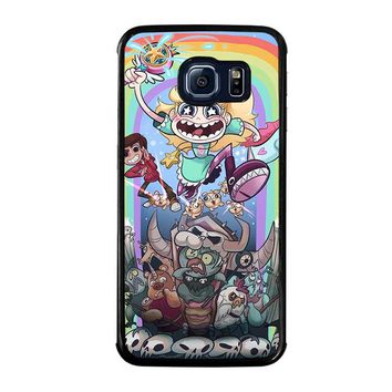 DISNEY STAR VS THE FORCE OF EVIL Samsung Galaxy S6 Edge Case Cover