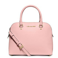 Michael Michael Kors Cindy Large Saffiano Leather Dome Satchel