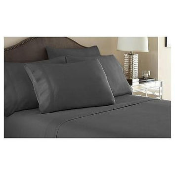 Regal Comfort Bamboo Luxury 2100 Series Hotel Quality Sheet Twin Gray