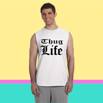 Thug Life 3 Sleeveless T-shirt