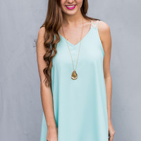 Like A Dream Dress in Aqua