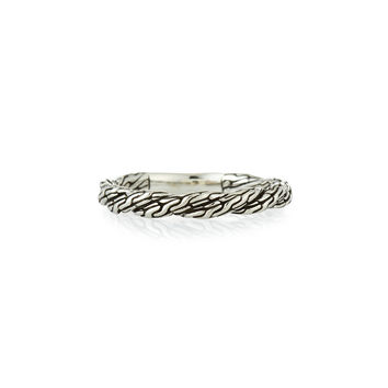Classic Chain Twisted Band Ring, Size 7 - John Hardy