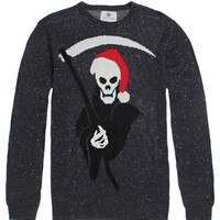 On The Byas Holiday Reaper Sweater - Mens Sweater - Gray