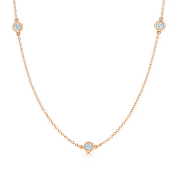 Tiffany & Co. - Elsa Peretti®:Diamonds by the Yard®Necklace