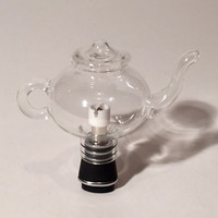 Glass Large Teapot Attachment for Micro Vapes