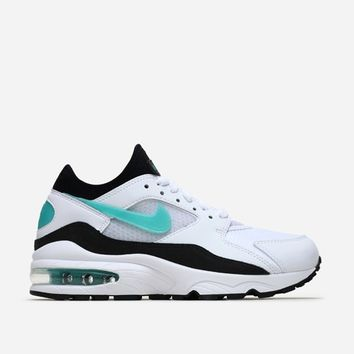 Nike Sportswear Air Max 93 3007167 100 | White/Sport Turquoise | Footwear - Naked