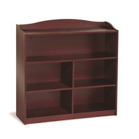 Guidecraft 4 Shelf Bookshelf Cherry - G6335