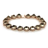 House of Harlow 1960 Jewelry Scry Stone Tennis Bracelet