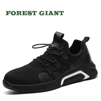 FOREST GIANT Men Casual Shoes Breathable Sneakers Fashion Tenis Masculino Shoes Zapatos Hombre Sapatos Outdoor Men Shoes