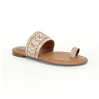 Ariat Copper Creek Tribal Sandals - White
