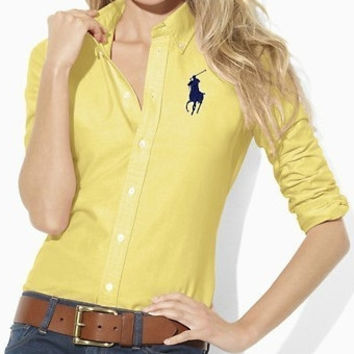 Trendsetter POLO Women Casual Long sleeve Shirt