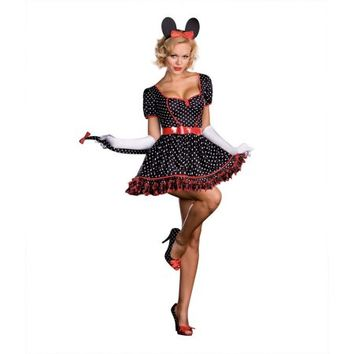 MINNIE MOUSE mickey disney womens sexy adult halloween costume S - Walmart.com