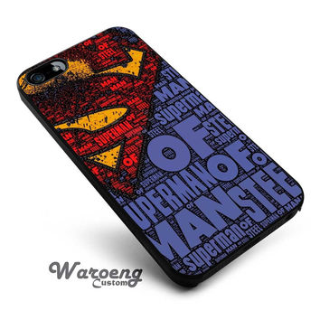 Superman logo iPhone 4s iphone 5 iphone 5s iphone 6 case, Samsung s3 samsung s4 samsung s5 note 3 note 4 case, iPod 4 5 Case