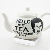 HELLO is it tea you're looking for full sized teapot