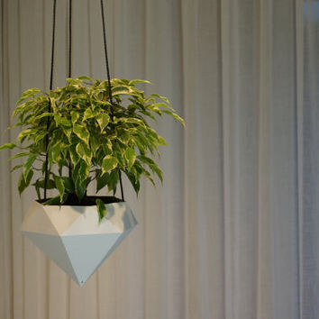Hanging planter Diamond 3D printed
