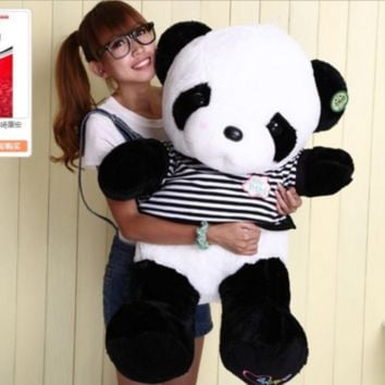"32"" Giant Big Panda teddy bear Plush Doll Toy Stuffed Animal Pillow gift"