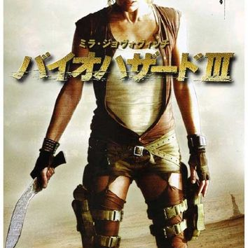 Resident Evil: Extinction (Japanese) 11x17 Movie Poster (2007)