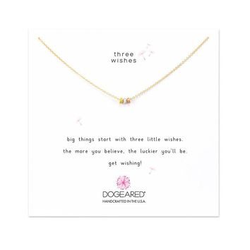 Dogeared | 3 Wishes Mixed Stardust Necklace