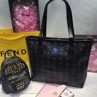 Year-End Promotion 3 Pcs Of Bags Combination (MCM Bag ,MCM Mid Bag ,MCM Wallet)