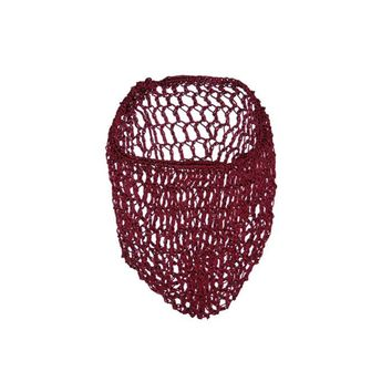 Burgundy Snood Hair Net