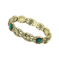 Dionysis Gold and Emerald Bracelet
