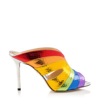 Judy in Multicolour - Sandals | Charlotte Olympia