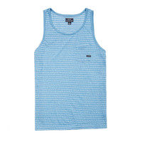 Eidon Knits Shooter Tank Top Tee Blue