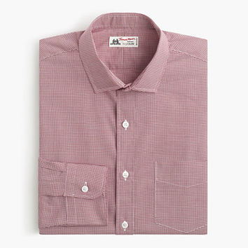Thomas Mason For J.Crew Spread-Collar Dress Shirt In Microgingham