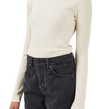 Topshop Boutique Tie Back Sweater | Nordstrom
