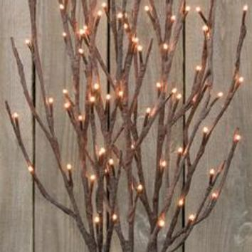 Willow Twigs Lighted Branch - 39""
