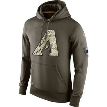 Arizona Diamondbacks NIKE MLB Salute To Service Hoodie