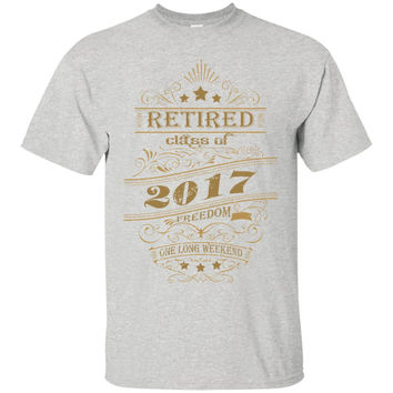 Retired Class Of 2017 Freedom One Long Weekend