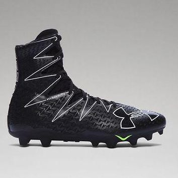 Under Armour Men's UA 2017 Highlight MC Blac Football Cleats Black Newton Cleats